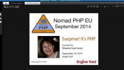 Surprise! It's PHP