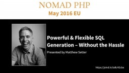 Powerful & Flexible SQL Generation — Without the Hassle