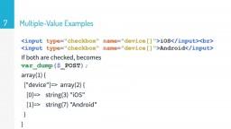 PHP for Beginners: Data Handling