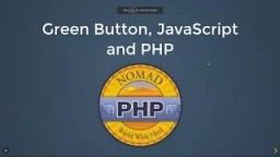 Green Button, JavaScript and PHP