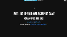 Web Scraping in PHP
